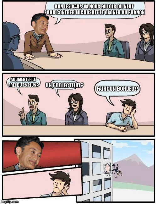 Boardroom Suggestion Sony