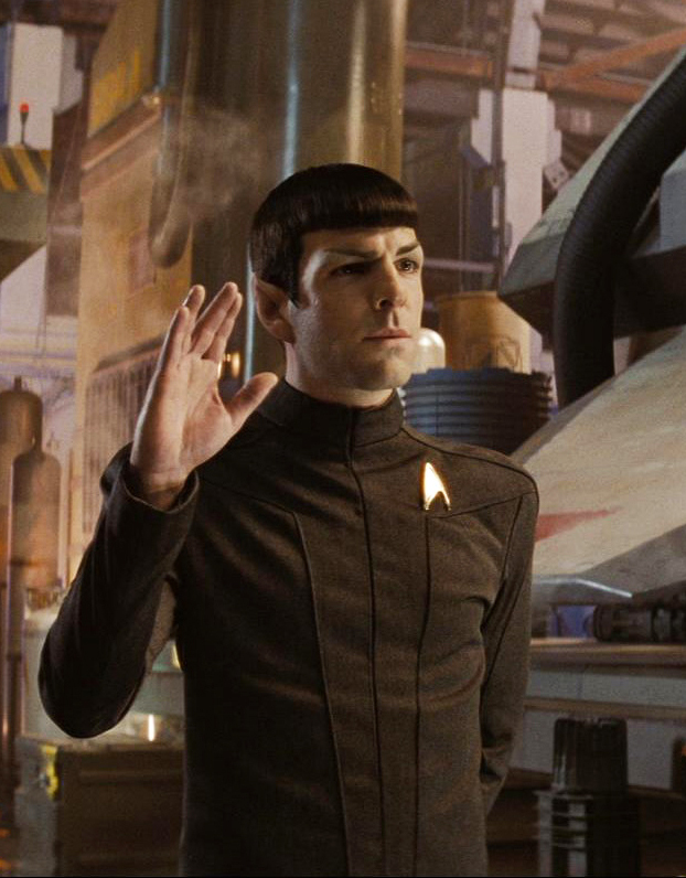 May the force be with you Spock