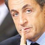 French President Nicolas Sarkozy is pictured during a meeting in Bordeaux, southwestern France, on February 22, 2011 during a visit dedicated on the government's plan aimed to improve the research and the treatment of Alzheimer suffering people. Launched on February 1, 2008, the government's plan with its 44 measures to fight Alzheimer and a budget of 1.6 billion euros until 2012, is to accelerate research and improve the ongoing management of this very disabling and incurable disease that affects more than 800,000 people in France. Photo by Patrick Bernard/ABACAPRESS.COM