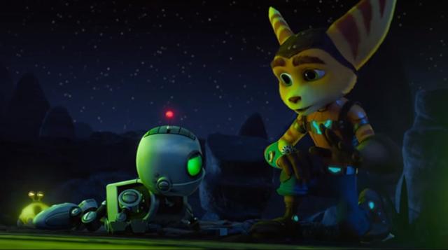 l'animation, on va en parler plus tard, mais regardez donc les yeux de Ratchet