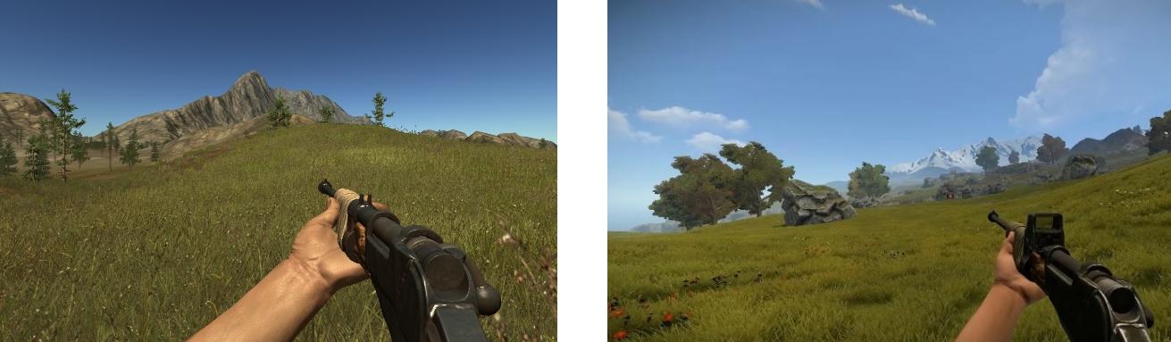 L'ancien Rust à gauche : le nouveau à droite.