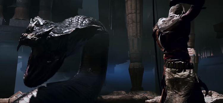 Un serpent géant. Ok mais non :).